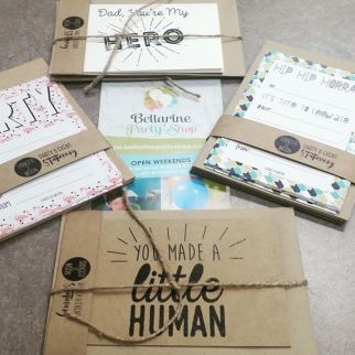 Danger and Moon - Invitations and Cards (Made in Geelong)