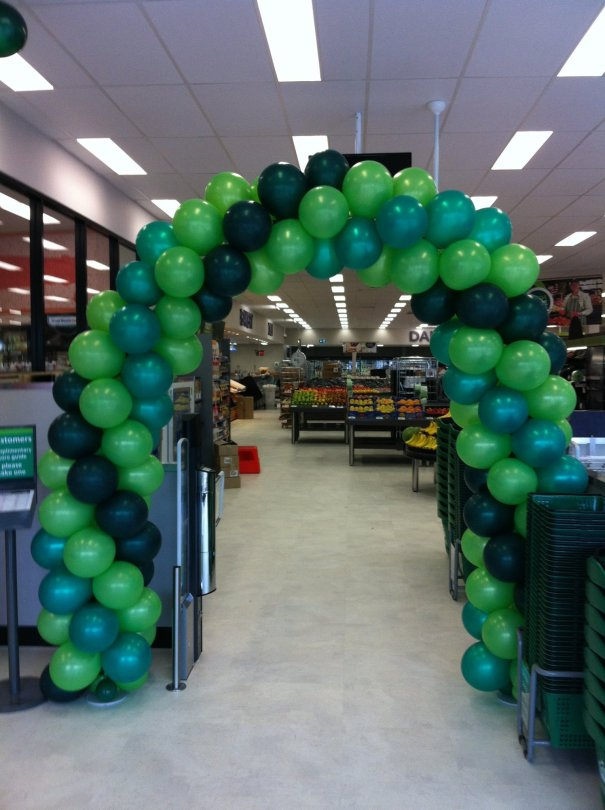 Green Arch Balloons Bellarine Party Shop