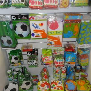 Party ware available for all themes